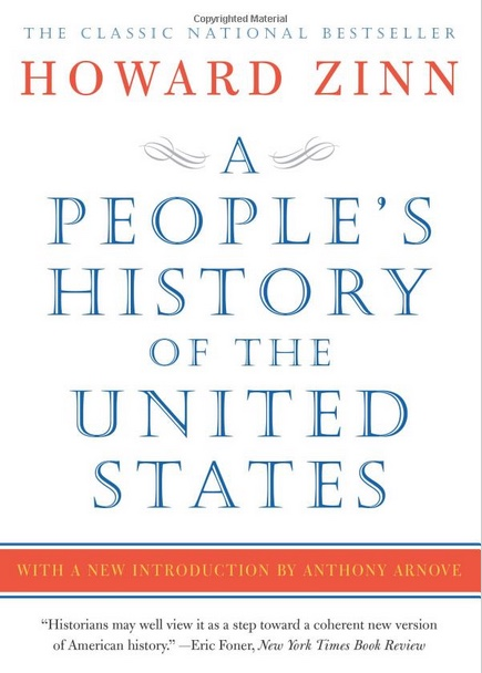 """cover of the book """"A People's History of the United States"""""""