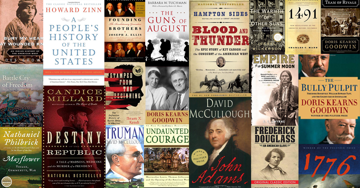 The 20 Best Books About American History featured image