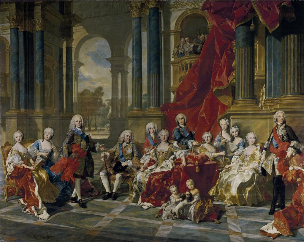 The Family of Philip V