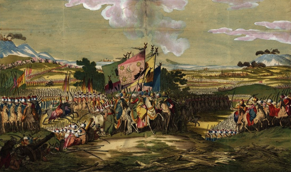 a painting depicting the Austro-Turkish War (1788–1791), Battle of Karansebes is one of the biggest fails in history