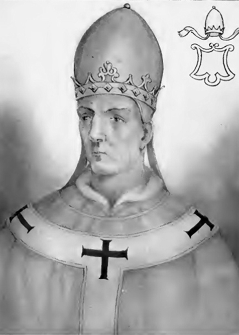 an illustration of Pope John VIII