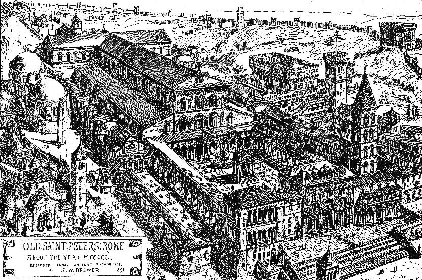 Saint Peter's Basilica, where Pope Formosus, The Cadaver Synod, is buried