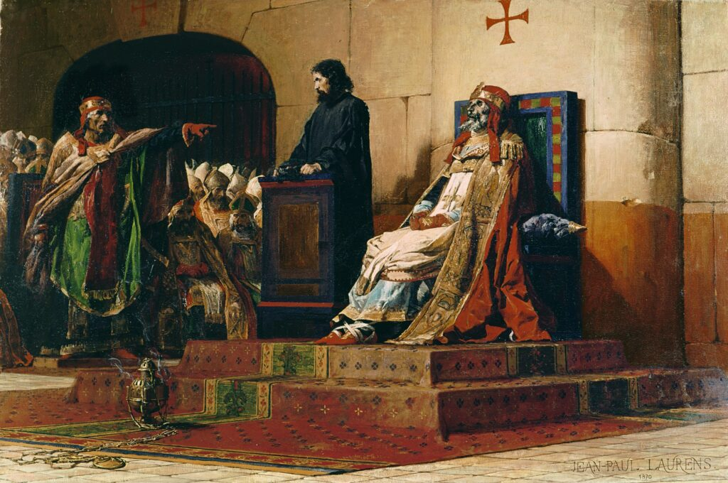 Pope Formosus and Stephen VI - The Cadaver Synod by Jean Paul Laurens