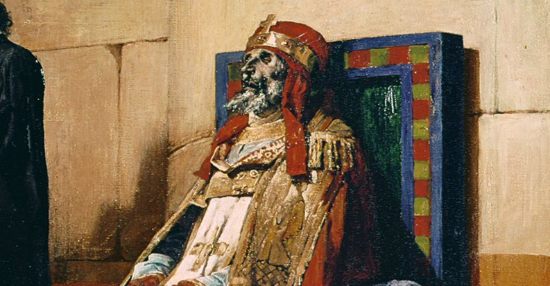 The Cadaver Synod, When A Dead Pope was Dug Up and Put on Trial