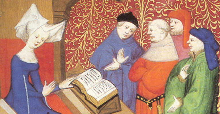 Christine de Pizan, Medieval Feminist Poet and Total Badass