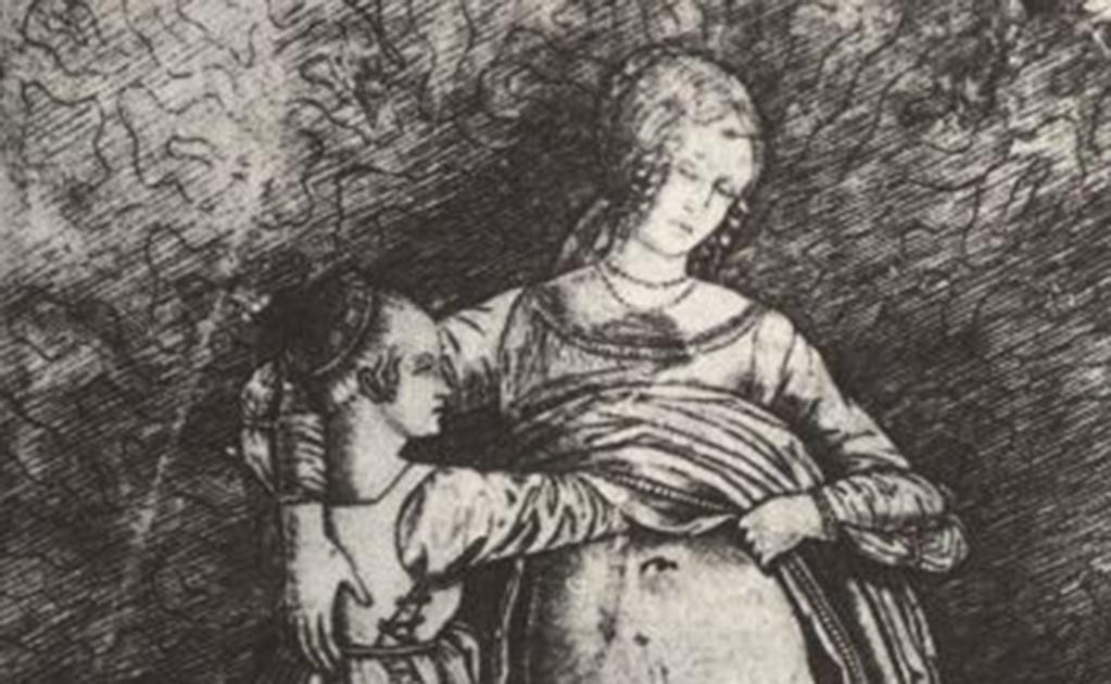 Two Women by Giovanni Antonio da Brescia