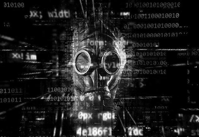 image of a radioactive mask