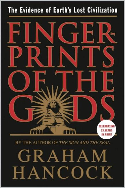book cover of Fingerprints of the Gods by Graham Hancock