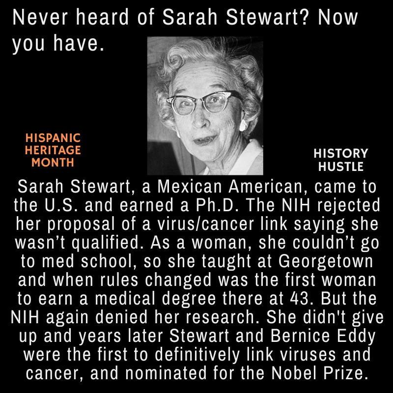 Sarah Stewart history fact