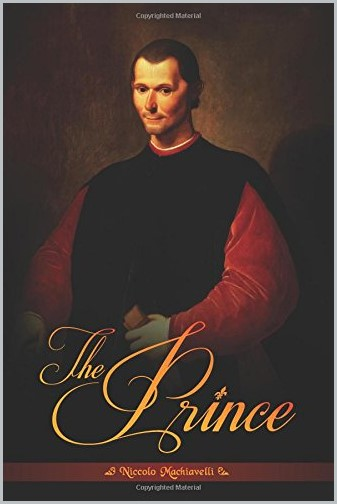 book cover of The Prince by Niccolo Machiavelli